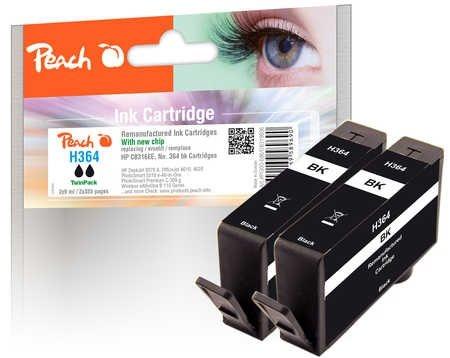 Peach Doppelpack Tintenpatrone schwarz - PI300-686