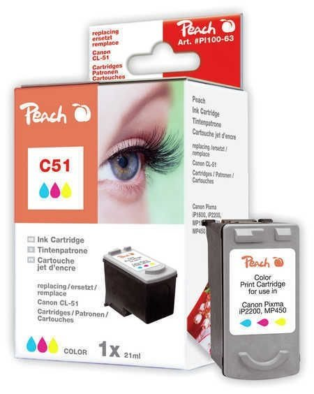 Peach Druckkopf color - PI100-63