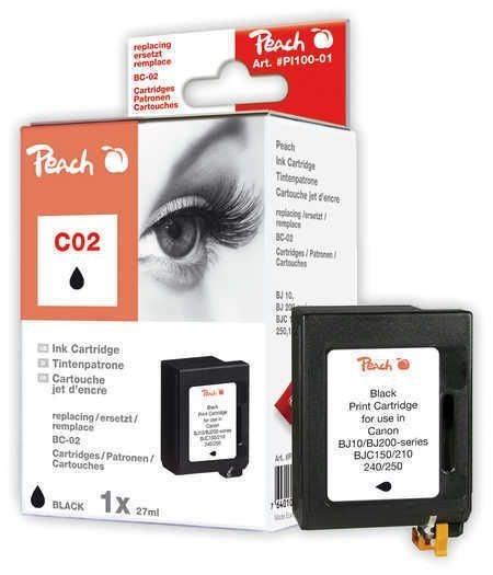 Peach Druckkopf schwarz - PI100-01