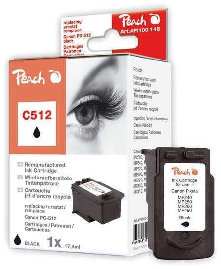 Peach Druckkopf schwarz - PI100-145
