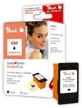 Peach schwarz ohne Druckkopf 1 Stück - PI100-44