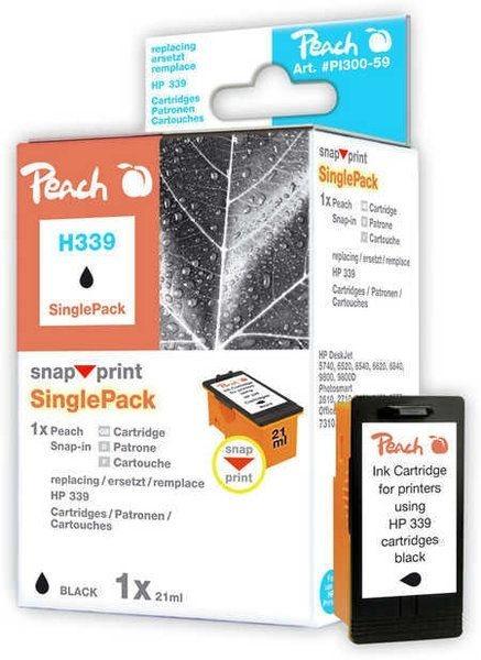 Peach schwarz ohne Druckkopf 1 Stück - PI300-59