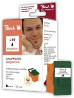 Peach schwarz ohne Druckkopf 1 Stück - PI400-07