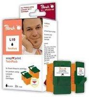 Peach schwarz ohne Druckkopf 2 Stück - PI400-08