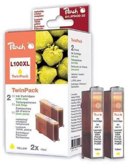 Peach Spar Pack 2 Tinten yellow - PI400-33