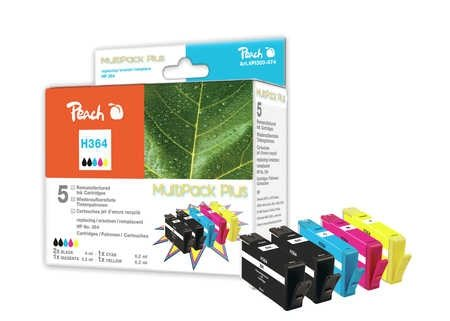 Peach Spar Pack Plus Tintenpatronen - PI300-574