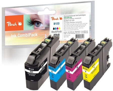 Peach Spar Pack Tintenpatronen - PI500-85