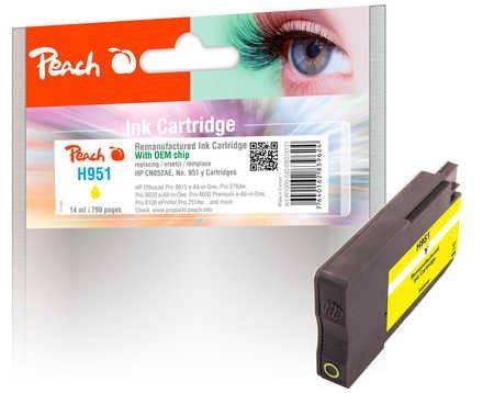 Peach Tinte mit Chip gelb - PI300-542