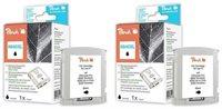 Peach Tinte schwarz mit Chip - PI300-336