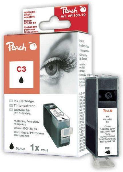 Peach Tinte schwarz - PI100-10