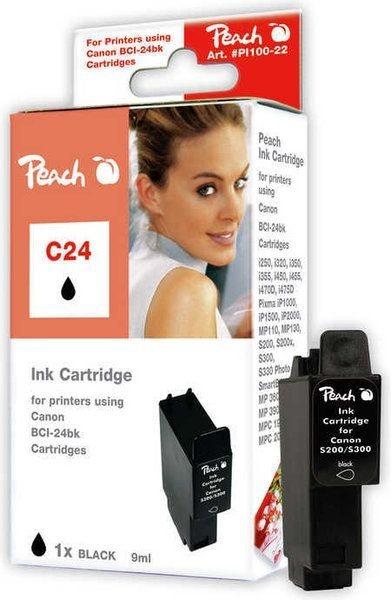 Peach Tinte schwarz - PI100-22