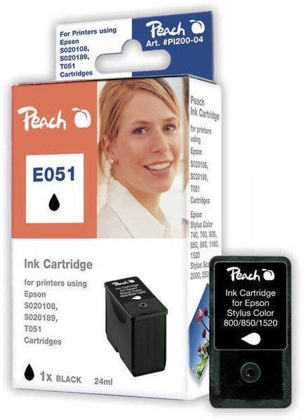 Peach Tinte schwarz - PI200-04
