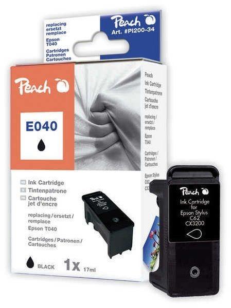 Peach Tinte schwarz - PI200-34