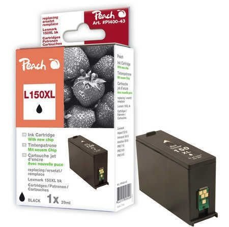 Peach Tinte schwarz XL - PI400-43