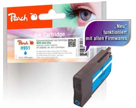 Peach Tintenpatrone cyan - PI300-698