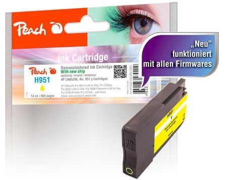 Peach Tintenpatrone gelb - PI300-700