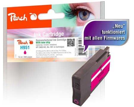 Peach Tintenpatrone magenta - PI300-699