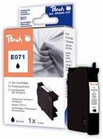 PEACH Tintenpatrone schwarz , PI200-107 / T071