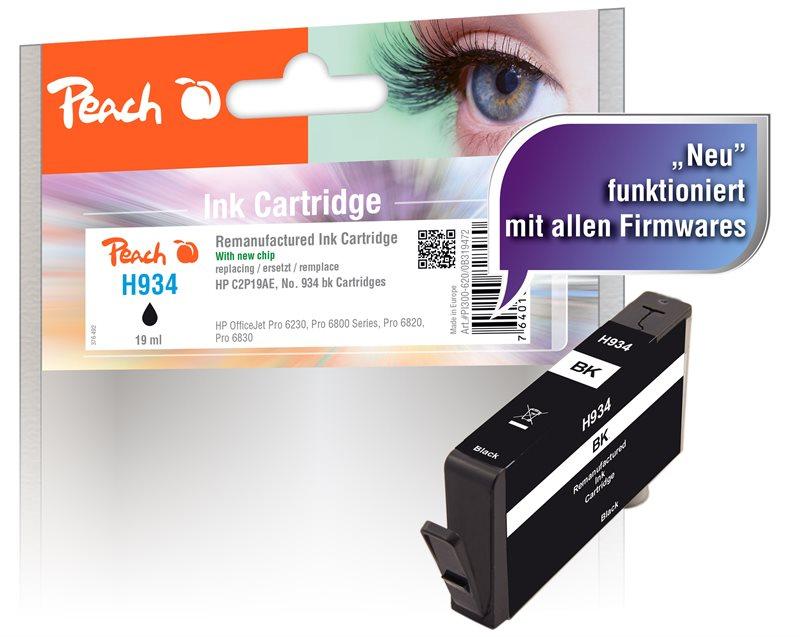 Peach Tintenpatrone schwarz - PI300-620