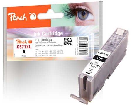 Peach Tintenpatrone XL foto schwarz - PI100-288