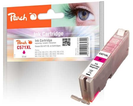 Peach Tintenpatrone XL magenta - PI100-291