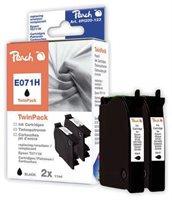 Peach Twin Pack schwarz - PI200-123