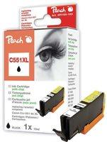 Peach XL-Tinte foto schwarz mit Chip - PI100-163