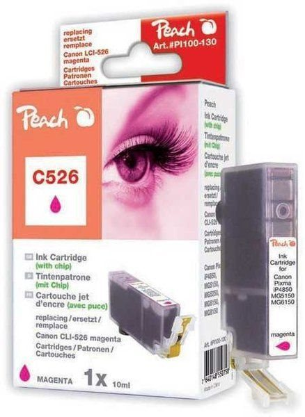 Peach XL-Tinte magenta mit Chip - PI100-130