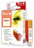 PEACH XL-Tintenpatrone gelb , PI100-84 / C521