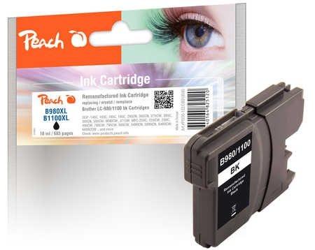 Peach XL-Tintenpatrone schwarz - PI500-122