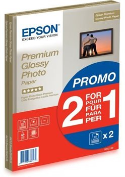 Premium Glossy Photo Paper – 2 für 1 - C13S042169