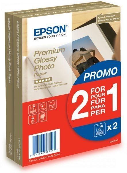 Premium Glossy Photo Paper – 2 für 1 - C13S042167