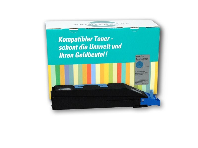 Printer Care Toner cyan kompatibel zu: KYOCERA TK-880C