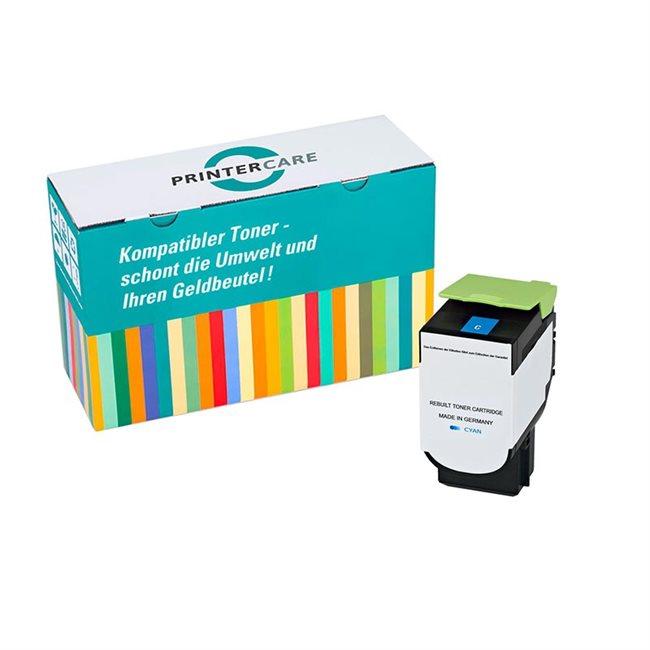 Printer Care Toner cyan kompatibel zu: Lexmark 71B20C0