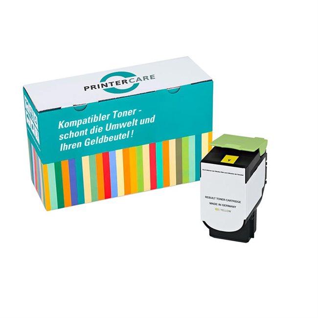 Printer Care Toner gelb kompatibel zu: Lexmark 71B20Y0