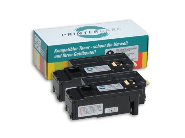 PrinterCare Doppelpack Toner BKHC PC-C1700BKHC2