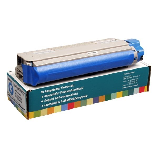 PrinterCare Toner cyan kompatibel zu 43865723