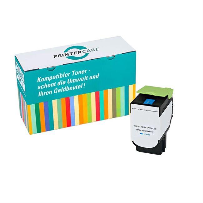 PrinterCare Toner cyan kompatibel zu 80C2SC0