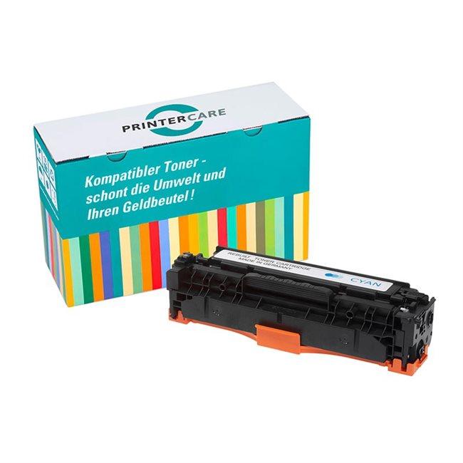 PrinterCare Toner cyan kompatibel zu CF381A