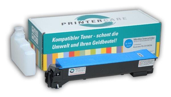 PrinterCare Toner cyan - PC-TK540-C