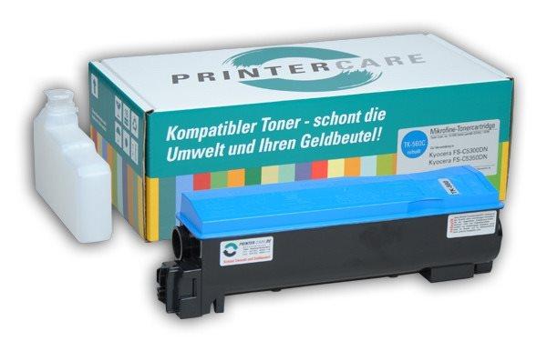 PrinterCare Toner cyan - PC-TK560-C