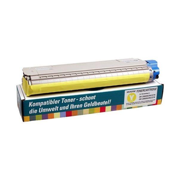 PrinterCare Toner gelb - C8600/8800-Y