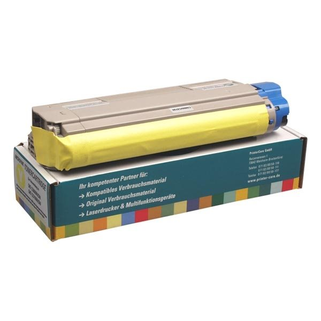 PrinterCare Toner gelb kompatibel zu 43324421