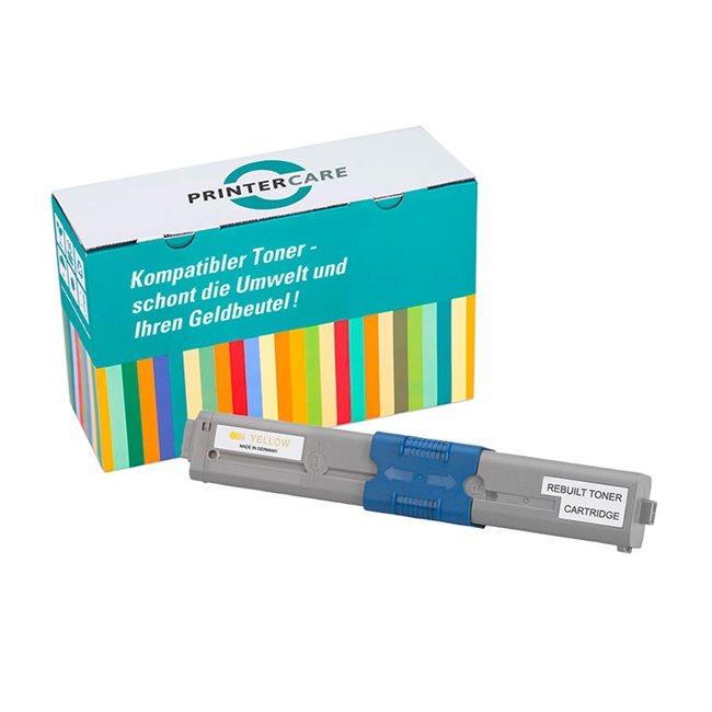 PrinterCare Toner gelb kompatibel zu 44973533