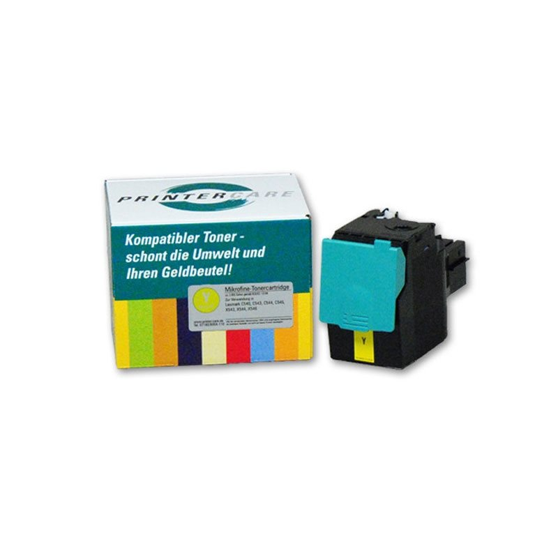 PrinterCare Toner gelb - PC-C540-Y