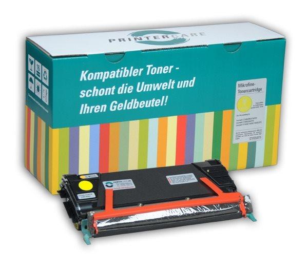 PrinterCare Toner gelb - PC-C734-Y