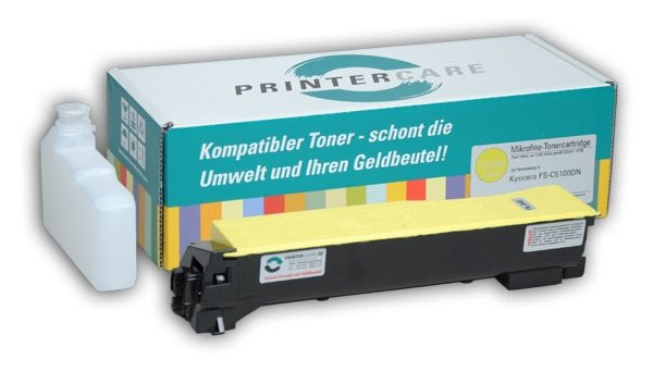 PrinterCare Toner gelb - PC-TK540-Y