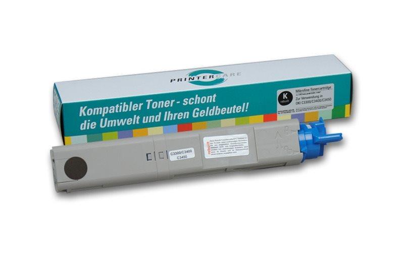 PrinterCare Toner HC schwarz - C3300/3400/3450-BK