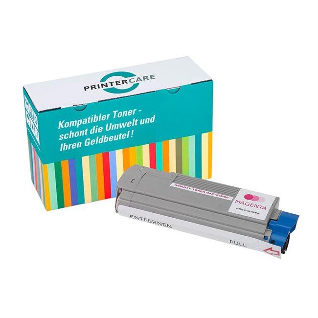 PrinterCare Toner magenta kompatibel zu 43381906