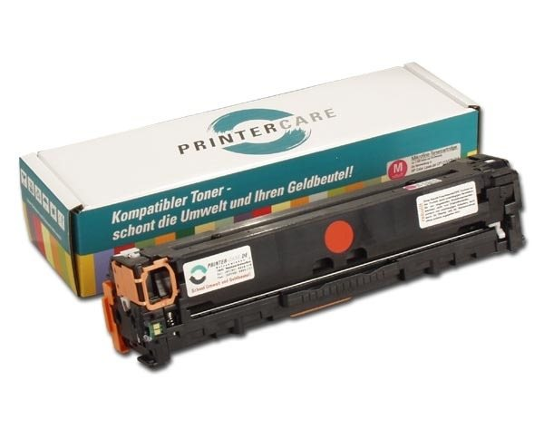 PrinterCare Toner magenta - PC-CLJCP1525-M-S